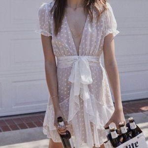 For Love and Lemons Firecracker mini dress